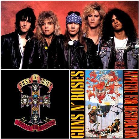 Bienvenidos a la jungla: Appetite for Destruction de Guns n' Roses