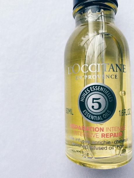 Aceite Reparador Capilar de L'Occitane, para cabellos maltratados y secos