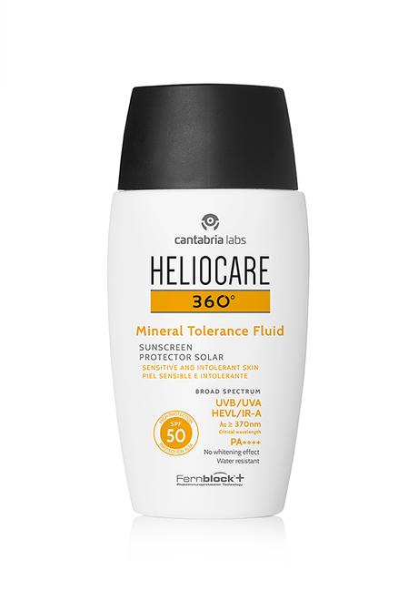 Probamos Heliocare 360º Mineral Toleriance Fluid para pieles sensibles