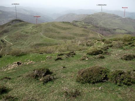 Renorios (Coto Beyo)-El Cuitu la Texera-Xurbíu-El Mayéu la Boya