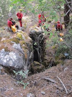 Nueva gran sima descubierta en la Sierra de Segura