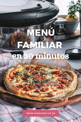 Menú rápido en 30 minutos con sistema de cocción AMC
