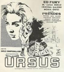 URSUS (España, Italia; 1961) Péplum, Súperhéroes (Ursus), Mitológico