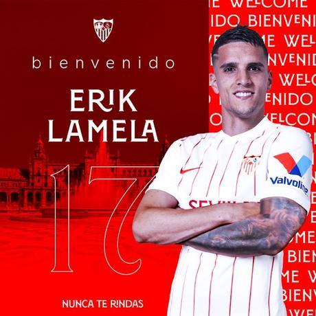 Erik Lamela nuevo jugador del Sevilla FC
