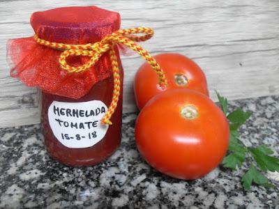 Mermelada de tomate casera