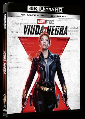 Viuda Negra, llega el próximo 14 de septiembre en versión Steelbook®, UHD + Blu-Ray™, Blu-Ray™ y DVD.