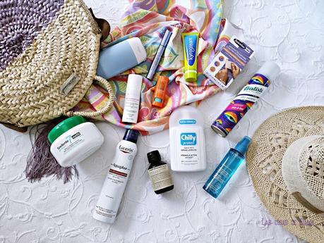 vacaciones maleta travel viaje neceser beauty belleza higiene verano summer