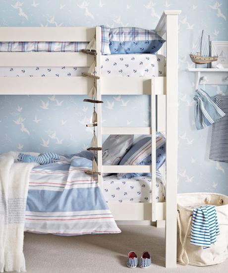 Dormitorios Multiples en Estilo Rustico