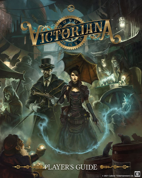 Desvelada la portada del Player's Guide de Victoriana