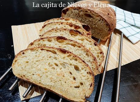 Pan de calabacín y zanahoria