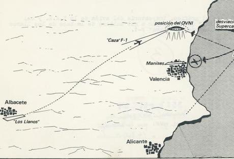 Caso Manises. Un avión que aterrizó por un OVNI.