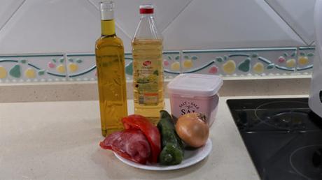 Los ingredientes necesarios para hacer vinagreta con Mambo