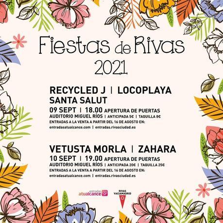 Fiestas de Rivas 2021: conciertos