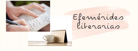 Efemérides literarias: 29 de julio