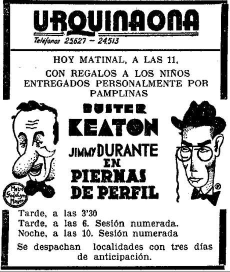 PIERNAS DE PERFIL - Buster Keaton 1932