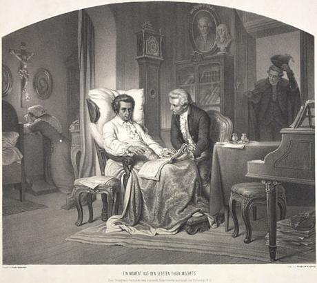 El caso de Wolfgang Amadeus Mozart