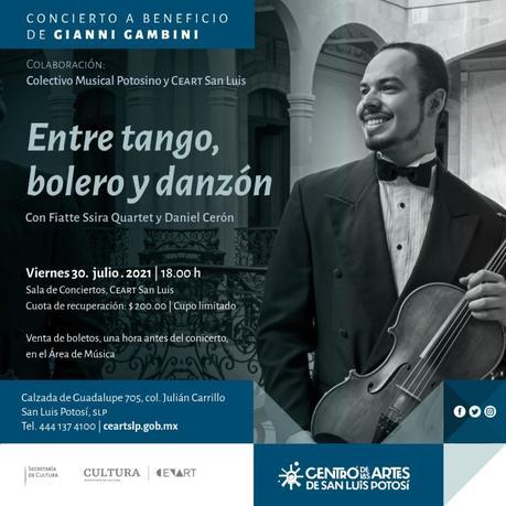 Invitan al concierto a beneficio del violinista Gianni Gambini
