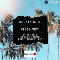 Rookie Djs en Fotomatón Bar en vinilo