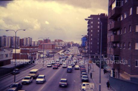 Entrada de Leganés a finales de los 80