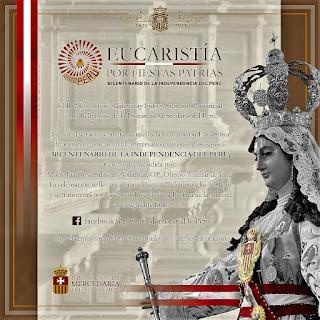 NUESTRA SEÑORA DE LA MERCED Y LA OBRA LIBERADORA EN EL PERÚ EN EL BICENTENARIO. Mons. Juan José Salaverry, OP