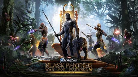Marvel's Avengers Black Panther llega el 17 de agosto