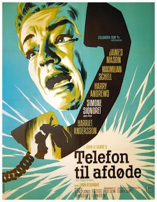 LLAMADA PARA UN MUERTO (Deadly Affair, the) (Gran Bretaña, 1966) Intriga