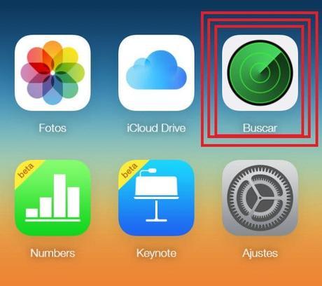 iPhone como localizar my iPhone