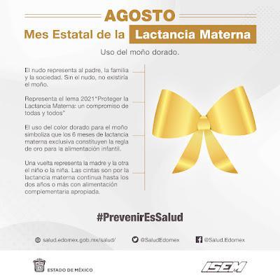 CONMEMORA SALUD DEL ESTADO DE MÉXICO SEMANA MUNDIAL Y MES ESTATAL DE LA LACTANCIA MATERNA
