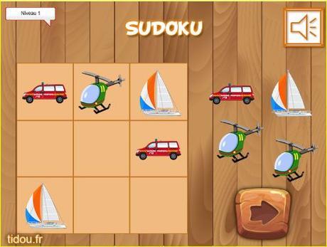 Sudoku de transportes