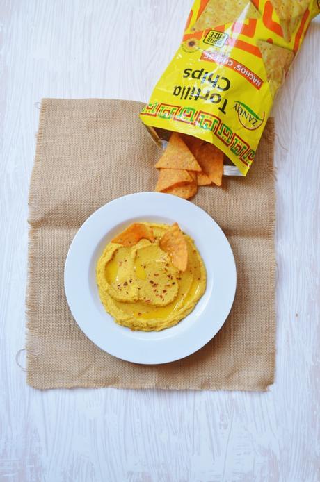 Hummus de zanahorias asadas con Degustabox