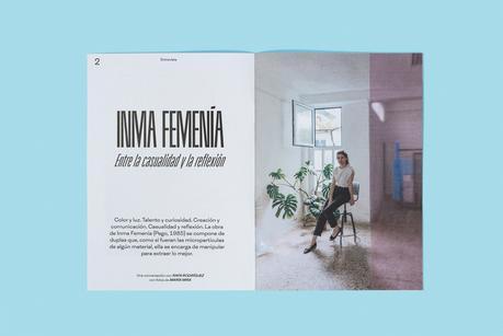 Un PRINT con Inma Femenía repleto de forma, fondo y experimentación