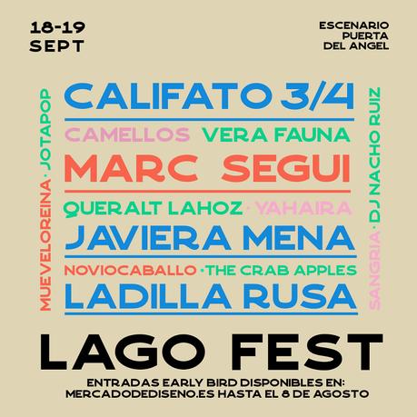 Lago Fest: Mercado de Diseño en el Escenario Puerta del Ángel de Madrid