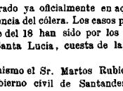 Diciembre 1865: Cólera Santander