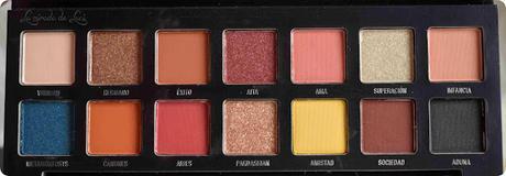 W7 Cosmetics, paleta de sombras Imperio by Sergio Pardo