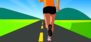 Correr un maratón puede mejorar la visión.