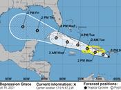 Nueva Grace cambia curso pronostica entre dominicano.