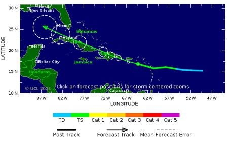 Caribe tiene respiro ahora tormenta tropical