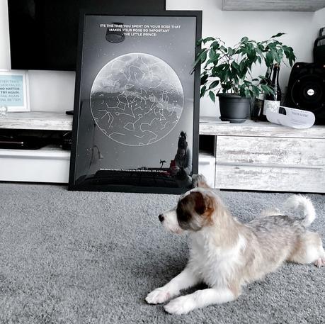 ¿Te animas a decorar con un mapa estelar?