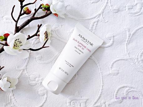 Maystar Sun Supreme Care sunprotect protección solar beauty belleza skincare cosmética profesional