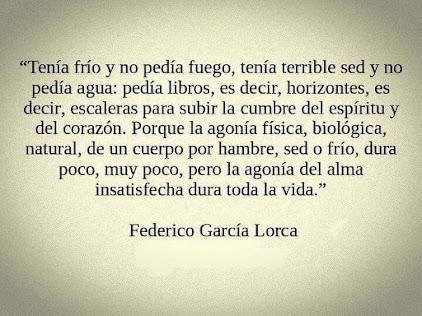 Inspiración para escritores: Federico García Lorca