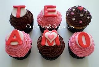 Cupcakes Temáticos: San Valentin.