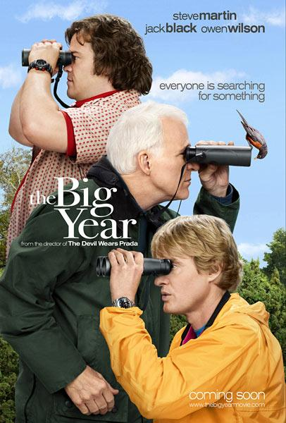 Trailer y póster de 'The Big Year', con Steve Martin, Jack Black y Owen Wilson