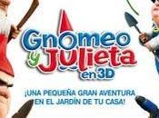 Gnomeo Julieta amor entre gnomos jardín