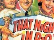 """AQUELLA NOCHE """"That Night Rio"""", EE.UU., 1941)"""