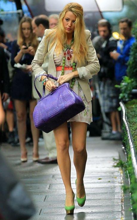 Gossip Girl: On The Set september 2011