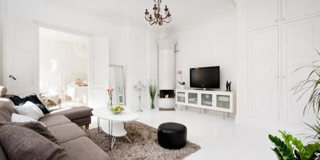Un piso sueco con encanto paperblog for Pisos decorados con encanto