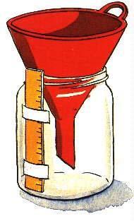 pluviometro casero