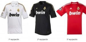 camisetas real madrid 2011 2012 roja