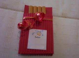 Plantillas de cajas para repartir  tabaco en la boda
