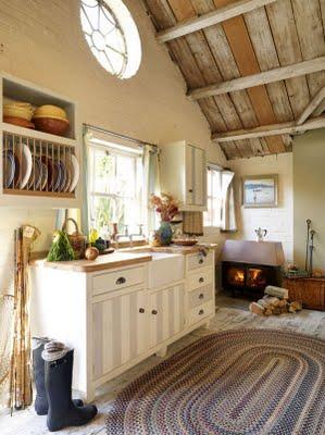 Cocinas en casas de campo paperblog for Cocinas para casas de campo